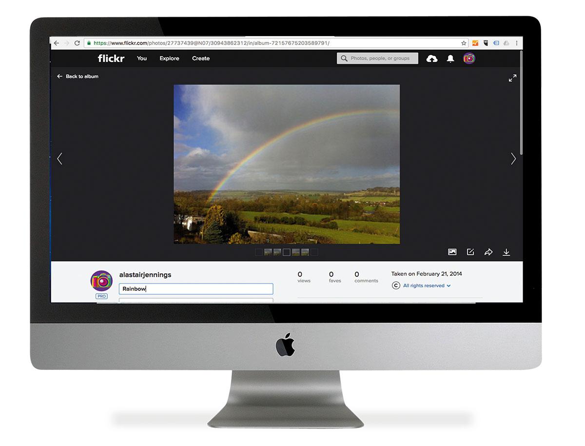 Flickr podłącz